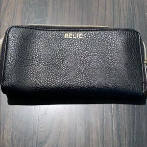 Relic Black Emma Phone Wallet NWT